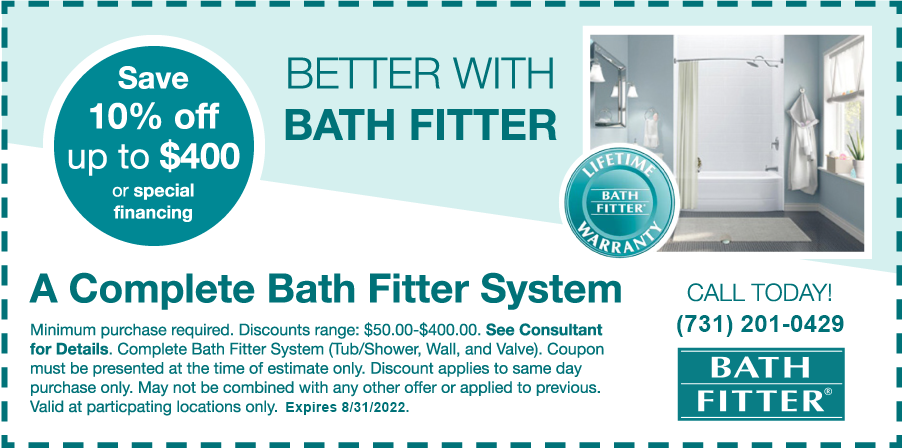 Bath Fitter $400 Off Coupon